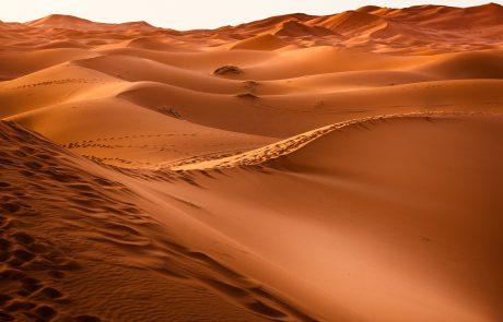 מכל המקומות – למה במדבר?